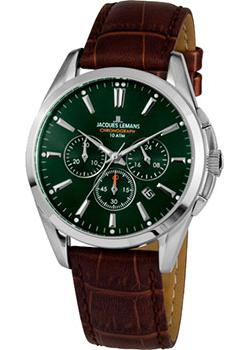 Jacques Lemans Часы Jacques Lemans 1-1945C. Коллекция Derby jacques lemans derby 1 1912a
