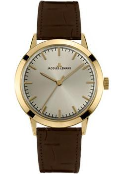 Jacques Lemans Часы Jacques Lemans N-1562B. Коллекция Nostalgie jacques lemans 1 1759a jacques lemans