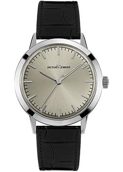 Jacques Lemans Часы Jacques Lemans N-1563A. Коллекция Nostalgie jacques lemans 1 1759a jacques lemans