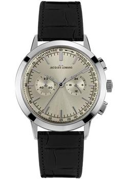 Jacques Lemans Часы Jacques Lemans N-1564A. Коллекция Nostalgie jacques lemans 1 1759a jacques lemans
