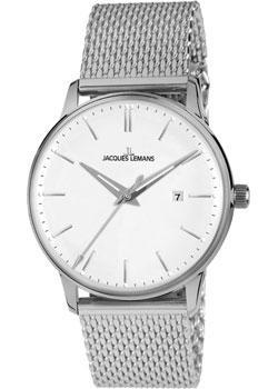 цена  Jacques Lemans Часы Jacques Lemans N-213C. Коллекция Classic  онлайн в 2017 году