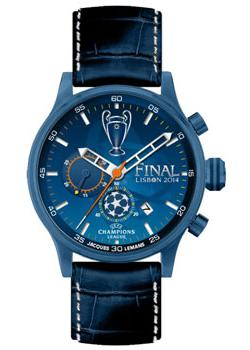 Jacques Lemans Часы Jacques Lemans U-42B. Коллекция UEFA jacques lemans часы jacques lemans u 44a коллекция uefa