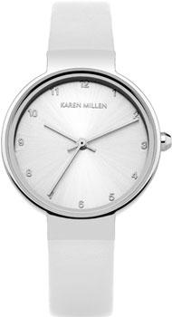 Karen Millen Часы Karen Millen KM131W. Коллекция Classic развивающая игрушка умка пожарная машинка со стихами м дружининой