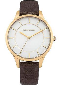 Фото - Karen Millen Часы Karen Millen KM133TGA. Коллекция Classic женские часы karen millen km107gm