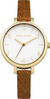 все цены на  Karen Millen Часы Karen Millen KM138TG. Коллекция SS-16  в интернете