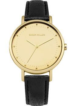 Фото - Karen Millen Часы Karen Millen KM139BG. Коллекция SS-16 женские часы karen millen km107gm