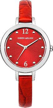 Karen Millen Часы Karen Millen KM152RA. Коллекция AW-4 karen millen km118sm karen millen