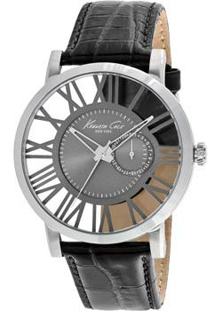 Kenneth Cole Часы Kenneth Cole 10020809. Коллекция Transparency kenneth cole black
