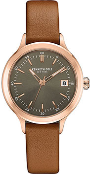 Kenneth Cole Часы Kenneth Cole 10030829. Коллекция Classic kenneth cole ikc4766