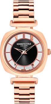 Kenneth Cole Часы Kenneth Cole KC15108001. Коллекция Transparent kenneth cole часы kenneth cole 10027840 коллекция transparent