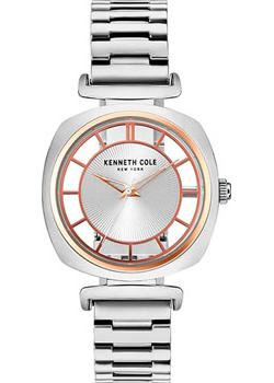 Kenneth Cole Часы Kenneth Cole KC15108002. Коллекция Transparent часы kenneth cole kenneth cole ke008dmwtw72