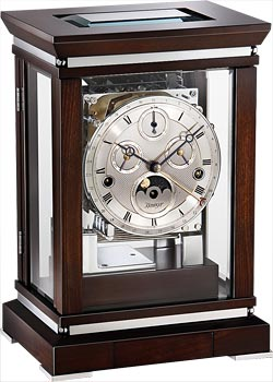 Kieninger Настольные часы Kieninger 1267-22-02. Коллекция kieninger напольные часы kieninger 0117 82 02 коллекция