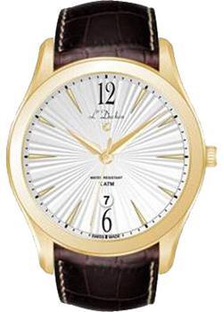 цена L Duchen Часы L Duchen D161.22.23. Коллекция Lumiere онлайн в 2017 году