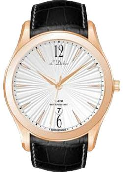 цена L Duchen Часы L Duchen D161.41.23. Коллекция Lumiere онлайн в 2017 году