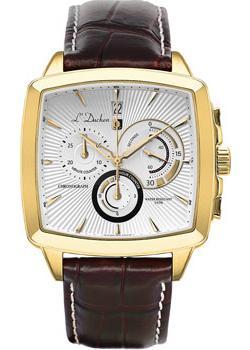 L Duchen Часы L Duchen D462.22.32. Коллекция Le Chercheur l duchen часы l duchen d462 91 31 коллекция le chercheur