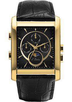 цена L Duchen Часы L Duchen D537.21.31. Коллекция Ecliptique онлайн в 2017 году