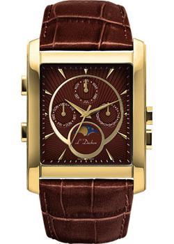L Duchen Часы L Duchen D537.21.38. Коллекция Ecliptique l duchen часы l duchen d537 68 33 коллекция ecliptique