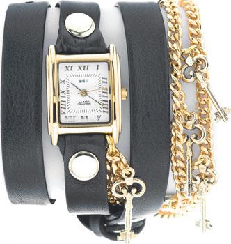 La Mer Часы La Mer LMCW1032GLD. Коллекция С цепочками и подвесками exclaim серебряный браслет цепочка с подвесками