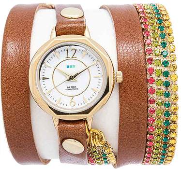 La Mer Часы La Mer LMDELCRY1502. Коллекция С цепочками и подвесками la mer часы la mer lmmulti3001 коллекция с цепочками и подвесками
