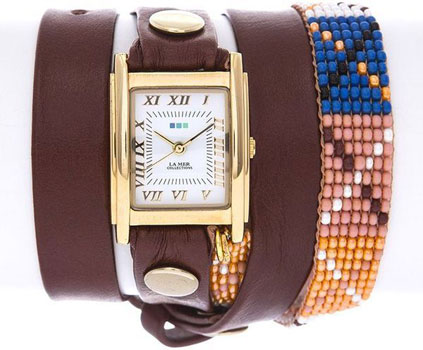 La Mer Часы La Mer LMGUAT006. Коллекция С цепочками и подвесками