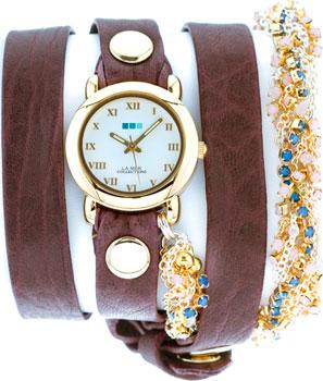 La Mer Часы La Mer LMMULTI6000EGG. Коллекция С цепочками и подвесками exclaim серебряный браслет цепочка с подвесками