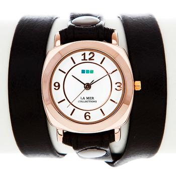 La Mer Часы La Mer LMODY004. Коллекция На длинном ремешке настенно потолочный светильник бра коллекция rustica 6886 черный бежевый globo глобо