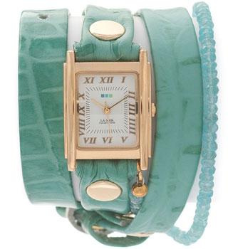 цена La Mer Часы La Mer LMPREC003. Коллекция С цепочками и подвесками онлайн в 2017 году