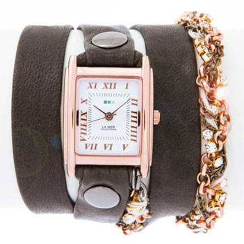 La Mer Часы La Mer LMSCW8001X. Коллекция С цепочками и подвесками la mer часы la mer lmcharm001b коллекция с цепочками и подвесками