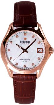 Швейцарские наручные  женские часы Le Temps