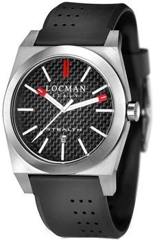 Locman Часы Locman 020100CBFRD1GOK. Коллекция STEALTH