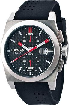 Locman Часы Locman 020200CBFRD1GOK. Коллекция STEALTH