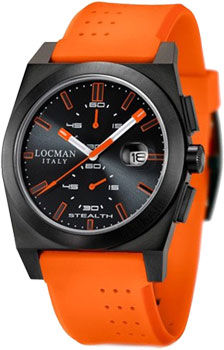 Locman Часы Locman 0202BKBKFOK1GOO. Коллекция STEALTH