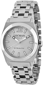 Locman Часы Locman 020400AGFNK0BR0. Коллекция STEALTH