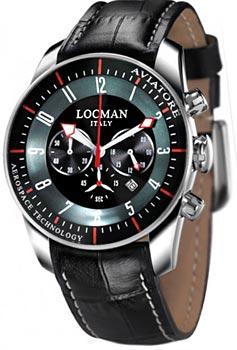 Locman Часы Locman 0450BKBKFWRKPSK. Коллекция AVIATORE