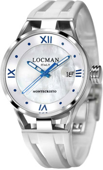 Locman Часы Locman 0520V03-00MW00SW. Коллекция MONTECRISTO