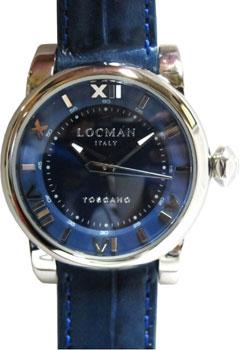 Locman Часы Locman 0595V05-00BLPSB. Коллекция TOSCANO
