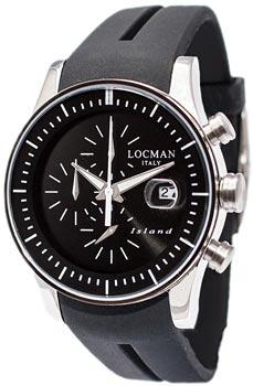 Locman Часы Locman 062000KW-BKWSIK. Коллекция ISLAND