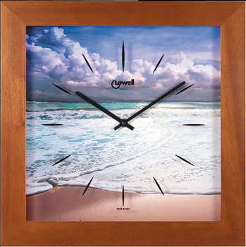 Lowell Настенные часы Lowell 05443. Коллекция Часы-картины картины постеры гобелены панно картины в квартиру картина бесконечность линий 35х35 см