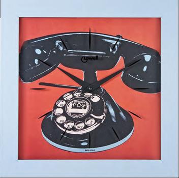 Lowell Настенные часы Lowell 05445. Коллекция Часы-картины картины постеры гобелены панно картины в квартиру картина бесконечность линий 35х35 см