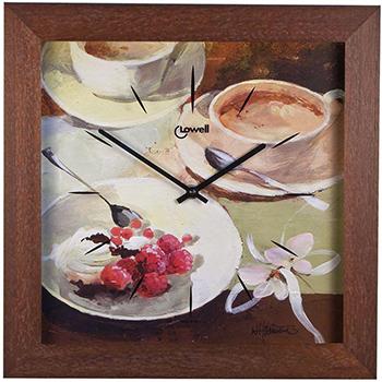 Lowell Настенные часы Lowell 05665. Коллекция Часы-картины картины постеры гобелены панно картины в квартиру картина бесконечность линий 35х35 см