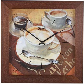 Lowell Настенные часы Lowell 05666. Коллекция Часы-картины картины постеры гобелены панно картины в квартиру картина бесконечность линий 35х35 см