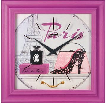 Фото - Lowell Настенные часы Lowell 05919. Коллекция Часы-картины картины в квартиру картина bamboo and tree 79х79 см