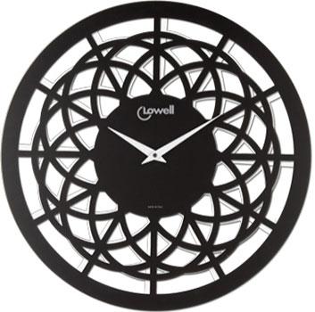 Lowell Настенные часы  Lowell 07412NB. Коллекция Plastic lowell настенные часы lowell 21445 коллекция