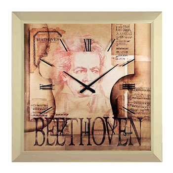 Lowell Настенные часы Lowell 11130. Коллекция Часы-картины lowell настенные часы lowell 11809g коллекция glass page 5