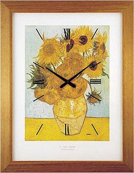 Lowell Настенные часы Lowell 11136. Коллекция Часы-картины lowell настенные часы lowell 11809g коллекция glass page 5