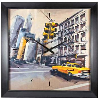Lowell Настенные часы Lowell 11175. Коллекция Часы-картины картины постеры гобелены панно картины в квартиру картина бесконечность линий 35х35 см