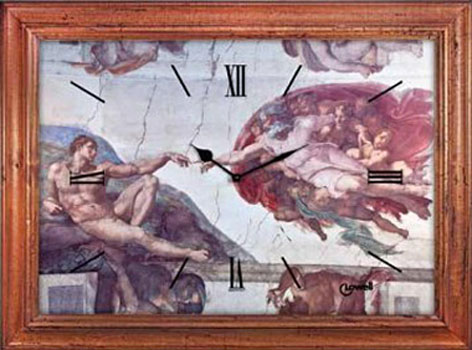 Lowell Настенные часы  Lowell 11222. Коллекция Antique