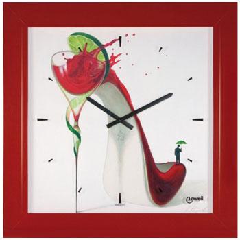 Lowell Настенные часы  Lowell 11776. Коллекция Часы-картины lowell настенные часы lowell 11071rs коллекция часы картины