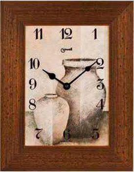 Lowell Настенные часы Lowell 11942C. Коллекция Часы-картины troyka часы настенные troyka 31 см