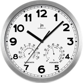 Lowell Настенные часы Lowell 14931B. Коллекция часы настенные la mer с гигрометром и термометром d324мм